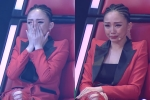 Giọng hát Việt 2017: Tóc Tiên bật khóc nức nở trên ghế nóng