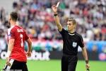 Cầu thủ thứ 2 nhận thẻ đỏ ở Euro 2016