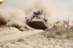 'Quái vật bọc thép' BTR-82A của Nga phóng tít mù trên thao trường