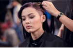Bông hồng lai 1m54 thấp kỷ lục của Top Model khóc thét vì bị cạo đầu