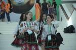 Nữ sinh quốc tế xinh đẹp trong lễ khai mạc Olympic Sinh học 2016