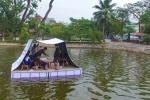 Học sinh chế tạo giường cứu sinh giúp đỡ người dân vùng lũ