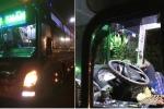 Truy tìm nhóm côn đồ lao vào chém tài xế và phụ xe khách trên đường Hồ Chí Minh