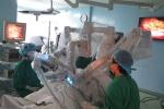 Robot phẫu thuật nang ống mật chủ cho sản phụ