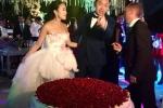 Đám cưới xa hoa, lộng lẫy 3 ngày của cặp cô dâu chú rể lắm tiền