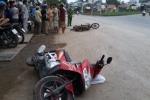 Đi ngược chiều gây tai nạn, tài xế xe máy mặc nạn nhân bỏ chạy gây phẫn nộ