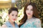 Chi Pu thân thiết với Hà Hồ, Đông Nhi tại sự kiện