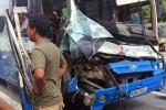 Tài xế xe tải cứu xe khách mất phanh đang lao đèo thoát nạn thần kỳ
