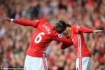 Pogba, Mata tỏa sáng, MU đập tan Leicester City