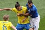 Trực tiếp Euro 2016: Italia vs Thụy Điển