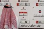 Đại gia Trung Đông chi gần 5 triệu USD mua biển số xe độc