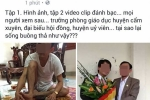 Trưởng phòng Giáo dục đánh bài bị tung lên mạng xã hội: Người trực tiếp chụp ảnh lên tiếng
