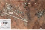 Khu vực chịu tấn công hóa học ở Syria tiếp tục bị không kích