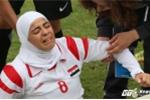 Cầu thủ Syria bật khóc đau đớn, cắn răng đá đến cùng trận gặp Myanmar