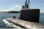 Cận cảnh tàu ngầm hạt nhân Mỹ ở Biển Đông