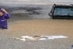 Bão Hải Yến gây lũ lụt lớn ở Trung Quốc