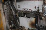 Máy giặt Samsung đột ngột bốc cháy, người dùng hoảng hốt