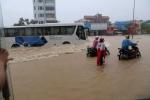 Nhiều tỉnh miền Bắc chìm trong mưa lớn