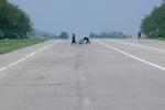 Những bức ảnh đường cao tốc hé lộ cuộc sống kì lạ ở Triều Tiên