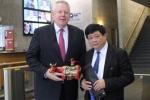 Tổng Giám đốc VOV Nguyễn Thế Kỷ thăm Tập đoàn Truyền thông DW