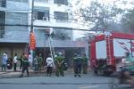 Cháy lớn ở công ty kinh doanh hàng tiêu dùng tại TP.HCM