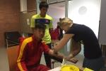 U20 Việt Nam vượt qua bài kiểm tra y tế tại Dusseldorf
