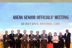 Quan chức cấp cao ASEAN họp tại Lào, thúc đẩy thực hiện, xây dựng các quy tắc liên quan Biển Đông
