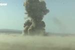 Trúng 'sát thủ diệt tăng', xe bom liều chết của IS nổ tung