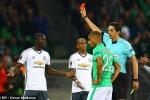 Thi đấu thiếu người, Man Utd vẫn nhẹ nhàng thắng St.Etienne