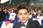 Isaac nổi bật không kém gì sao Hàn tại Liên hoan phim Busan