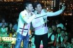 Mặc chứng sợ độ cao, Noo Phước Thịnh và rapper Basick hào hứng hát giữa không trung