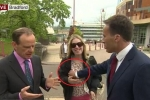 Sờ ngực phụ nữ qua đường, phóng viên BBC bị đánh trên sóng trực tiếp