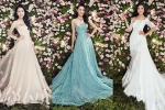 Thí sinh Hoa hậu Việt Nam khoe dáng đẹp lộng lẫy trong trang phục dạ hội