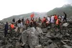 Hiện trường vụ lở đất như tận thế, chôn vùi hơn 100 người ở Trung Quốc