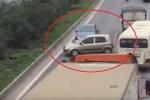 Hàng loạt ô tô đi ngược chiều trên cao tốc: Hành vi tự sát và giết người