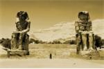 Bí ẩn 'tiếng hát' nghìn năm của cặp tượng đá khổng lồ gác đền thờ Pharaoh ở Ai Cập