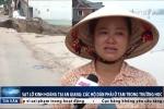 Sạt lở khủng khiếp ở An Giang: Người dân phải ở tạm trong trường học