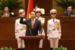Truyền hình trực tiếp: Chủ tịch nước tuyên thệ nhậm chức
