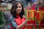 'Xiêu lòng' với bộ ảnh Tết của nữ tiếp viên trưởng Vietjet Air