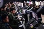 Không ra thực địa, binh sỹ Mỹ, Hàn ngồi boong-ke, tập trận trên máy tính