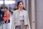Diễm My 9x lẻ bóng tại sân bay sang Hàn Quốc dự Liên hoan phim