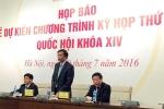 Quốc hội khóa XIV dành 6 ngày quyết định nhân sự cấp cao