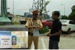 Vi phạm giao thông còn dùng thẻ phóng viên VTV 'dởm' xin xỏ