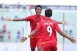 Thắng dễ Singapore, U22 Myanmar thể hiện sức mạnh ứng viên vô địch