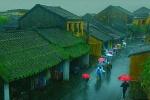 Không khí lạnh gây mưa lớn ở Trung Bộ