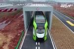 Trung Quốc trình làng tàu chạy đường ray ảo đầu tiên trên thế giới