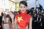 Sao hạng B Trung Quốc mặc váy quốc kỳ quét đất cúi đầu xin lỗi cả nước