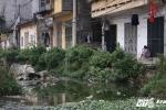 Video, ảnh: Kinh hãi con đường ngập ngụa nước thải, bốc mùi giữa Thủ đô