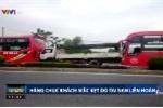 5 ô tô đâm nhau liên hoàn, hàng chục hành khách mắc kẹt trên quốc lộ