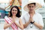 Hoa hậu Tường Linh được trai đẹp Thái Lan hộ tống